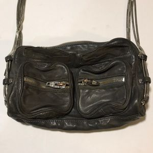 Alexander Wang Brenda Grey Crossbody Bag